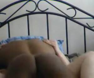 Horny wife get fucked by black dude